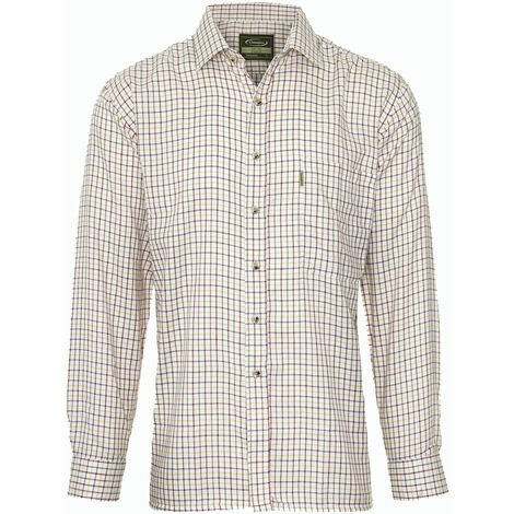 Champion Tattersall Country Casual Style Long Sleeved Shirt