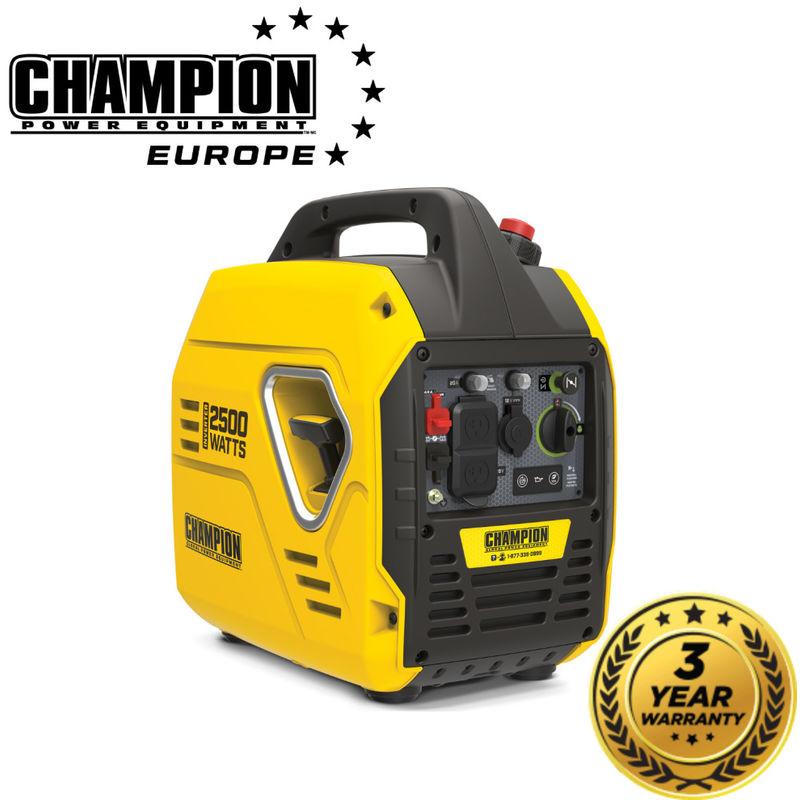 Image of Champion Power Equipment - CHAMPION - The Mighty Atom 2500Watt Champion Invertor Generator - 92001I