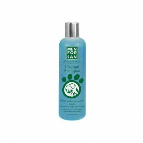 Champú MENFORSAN elimina olores con talco, para perro