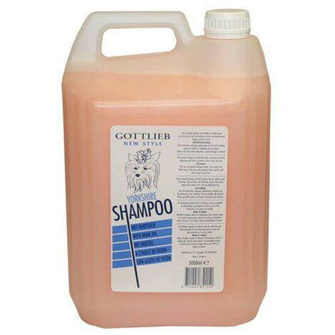 Champú Yorkshire con aceite de macadamia 5 litros   Champú para perros   Higiene canina