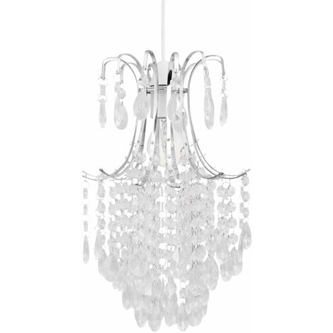 Chandelier Style Easy Fit Ceiling Light Shade