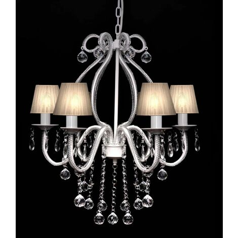 Chandelier with 2300 Crystals White VDTD30888