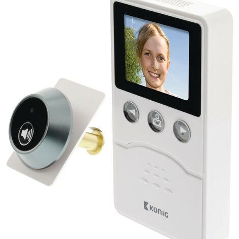 """main image of """"Changeur numérique de porte d'entrée avec caméra et écran"""""""