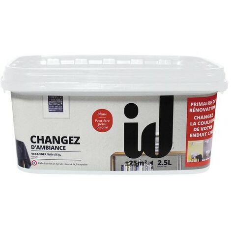 Changez d'Ambiance 2,5L - Sous-couche masquante - ID Paris - blanc