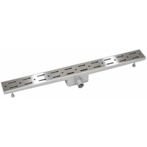 Channel drain, stainless steel - shower drain, slot drain, linear shower drain