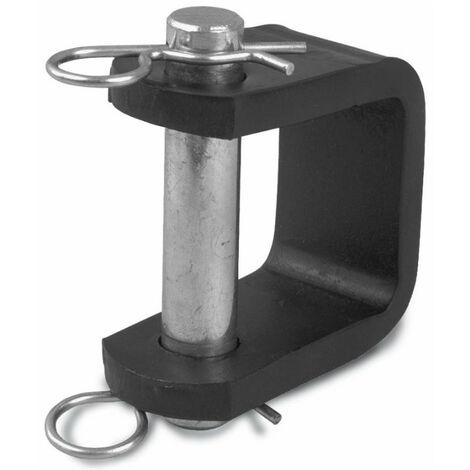 Chape d'attelage à souder 108 X 60 mm