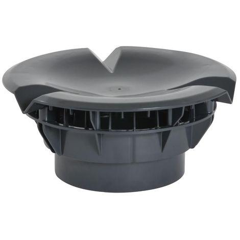 Chapeau aéraulique simple pour VMC D160 Anth