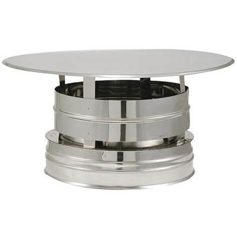 Chapeau aspirateur double paroi - Chapeau aspirateur DPI - diamètre intérieur 153mm