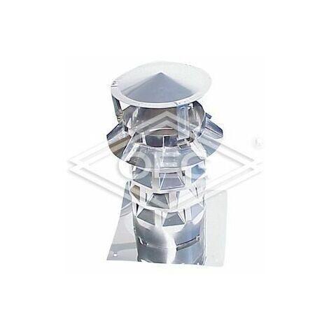 Chapeau de cheminée Windkat 2-130 plaque de base