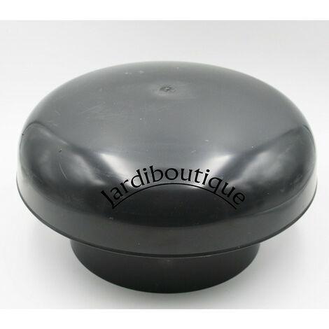 Chapeau de ventilation Ø 200, couleur ARDOISE, à coller