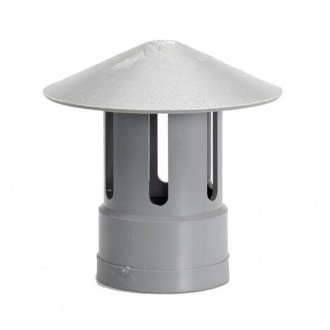 Chapeau de ventilation - Ø50mm - gris GIRPI