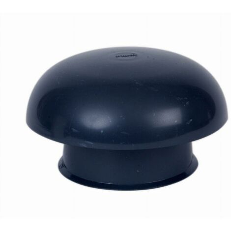 Chapeau de ventilation simple Ardoise Ø160/259 mm NICOLL - CC16