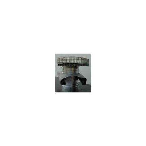 CHAPEAU METALLIQUE DE TOITURE D150 MM ARDOISE UNELVENT CT-150 ARDOISE METAL 875346