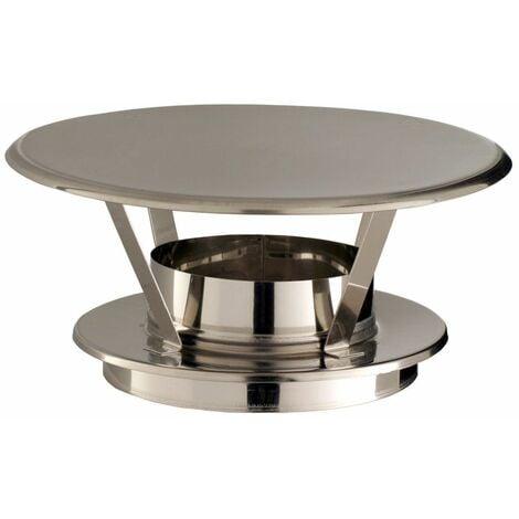 Chapeaux THERMINOX TI - Chapeau pare-pluie simple - diamètre 150