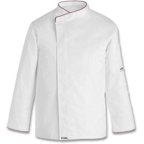 Chaqueta cocina Confort blanco unisex