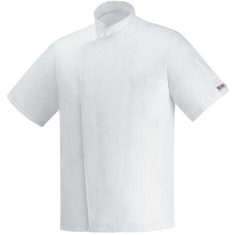 Chaqueta cocina OTTAVIO blanco unisex
