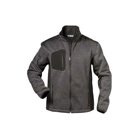 Chaqueta Innsbruck, Talla 3XL, gris/negro