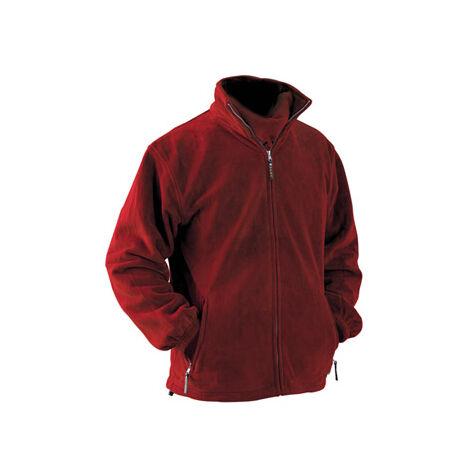 Chaqueta polar Hymalaya rojo Talla XL