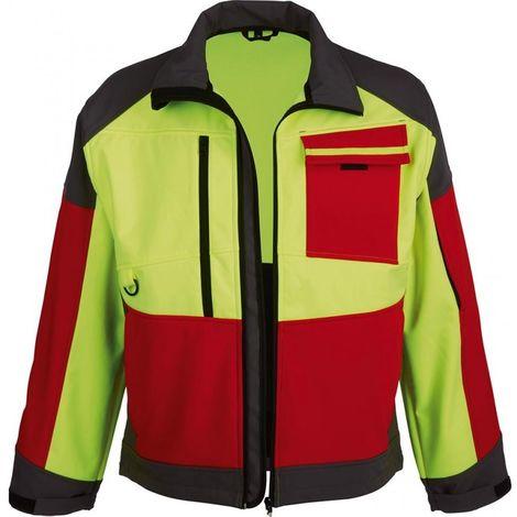 Chaqueta Softshell ForestJackRed Talla 3XL rojo/anth./amarillo