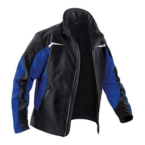 Chaqueta Softshell Pulsschlag Talla 3XL, negro/azul