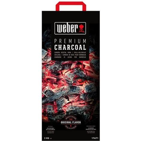 Charbon de bois 10 kgs dont 1 gratuit weber