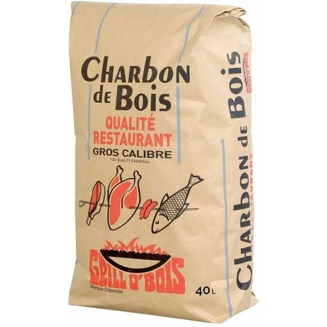 Charbon de bois 40L Qualité Restaurant Grill O'Bois