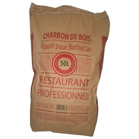 CHARBON DE BOIS 50L RESTAURANT