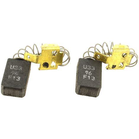 Charbons 7x12,5x20 par 2 pour Scie circulaire Bosch