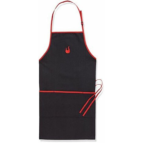 Charbroil Tablier de barbecue, noir/rouge, 30x 13x 1,5cm, 140517