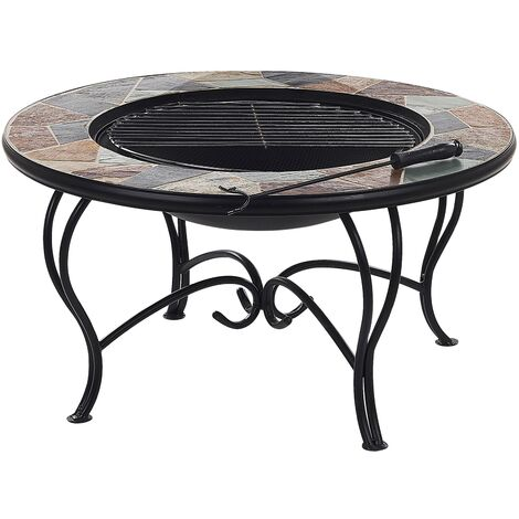 Charcoal Fire Pit Multicolour EREBUS
