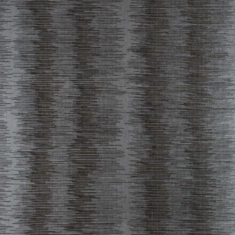 Charcoal Ombre Stripe Wallpaper Silver Metallic Superior Wallcoverings from YöL