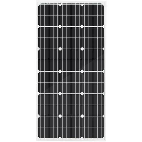 Charge de batterie de panneau solaire mono de 100Watt 18Vatt pour le camping de caravane de maison de jardin