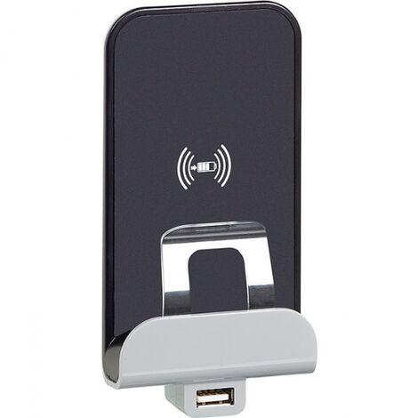 Chargeur à induction et module de charge USB type A - celiane - Legrand