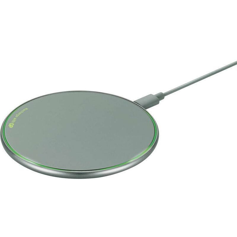 Chargeur à induction GP Batteries QP0A 165QP0AGREY 2000 mA Sorties standard Qi gris foncé 1 pc(s)