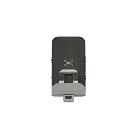 Chargeur à induction + module de charge USB Dooxie - Finition métallisée - 600348 - Legrand