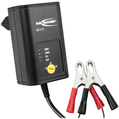 Chargeur auto ANSMANN pour batterie 2v/6V/12V - charge d'entretien