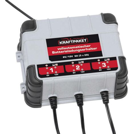 Chargeur automatique Dino KRAFTPAKET 136316 6 V, 12 V 2 A 2 A 1 pc(s)