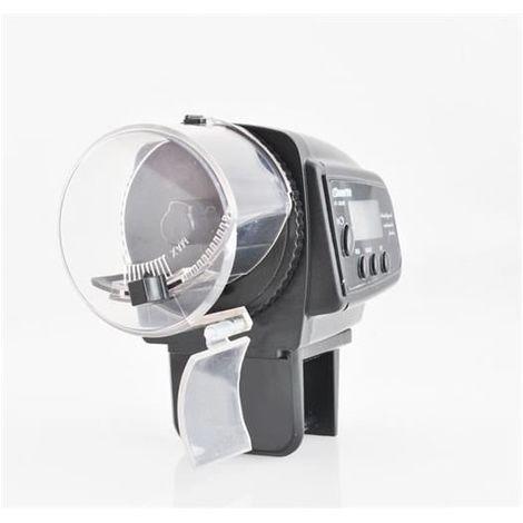 Chargeur automatique pour le poisson - distributeur alimentaire aquarium unité d'alimentation LCD 4861