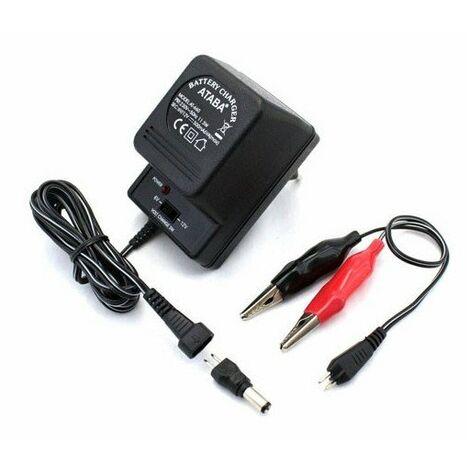 """main image of """"chargeur batterie 12v pour canon bazooka elec. Et horloge elec."""""""