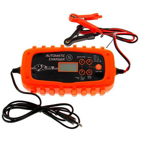 Chargeur batterie automatique - pour batteries 6 - 12 V - 15 à 125 Ah - XL Perform Tools