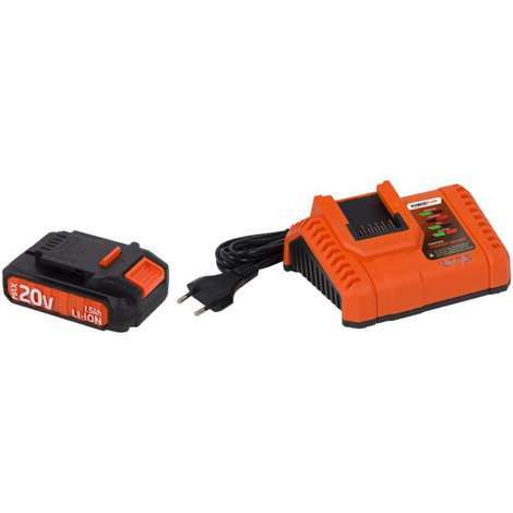 Chargeur batterie lithium plus batterie 20v