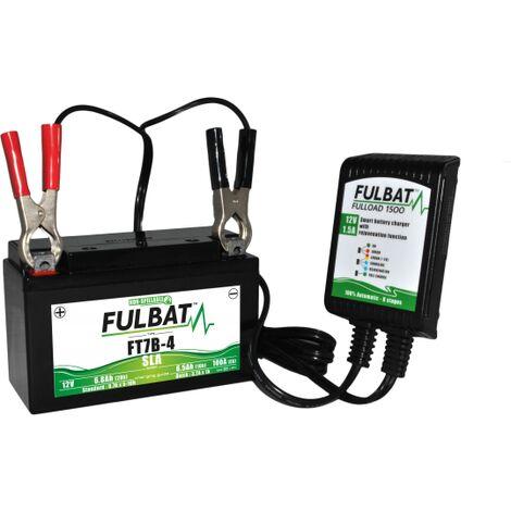 Chargeur batterie moto Fulbat Fulload 1500 12V 1.5A
