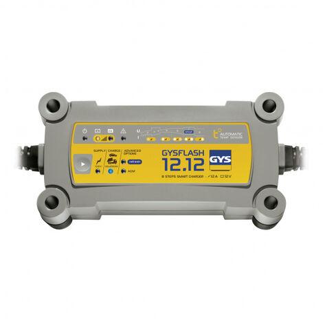 Chargeur batterie Plomb 12V 12A de 20 à 250Ah GYSFLASH 12.12