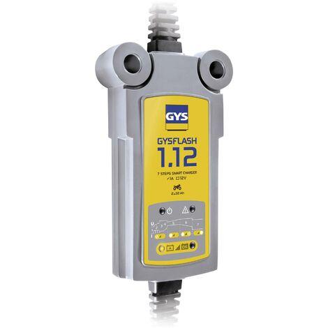 Chargeur batterie Plomb 12V 1A de 2 à 32Ah GYSFLASH 1.12