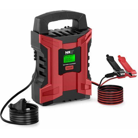 Chargeur Batterie Voiture Auto Moto Chargeur Intelligent 6V/12V 2A/10A 7 Étapes