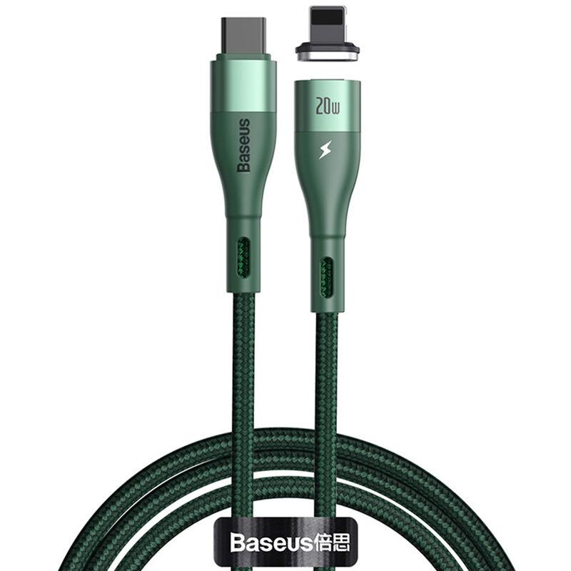 Baseus - Chargeur Cable De Type C Cable 20W Cable De Charge Rapide Compatible Avec L'Iphone 12 7 Xr 11 Pro Max Usb Type C Cable, Vert Fonce 2M