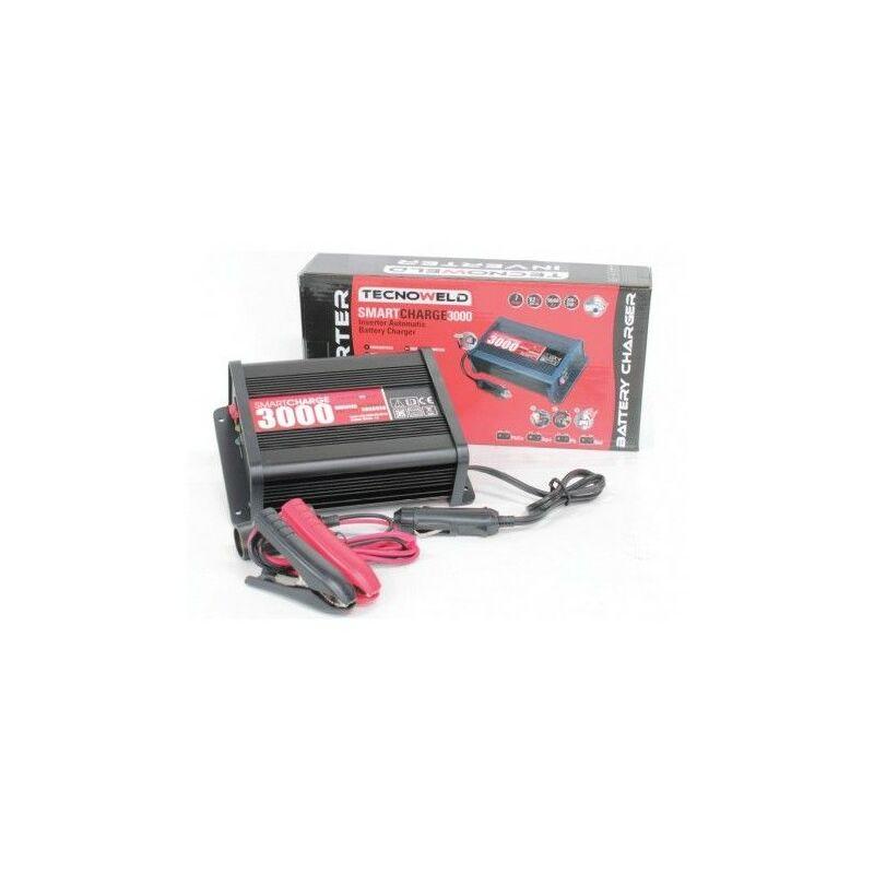 8fb9800193918 Chargeur de batterie 12V AWELCO MOTO/AUTO Batteries jusqu'à 140 Ah  AUTOMATIC Smartcharge 3000 TECNOWELD