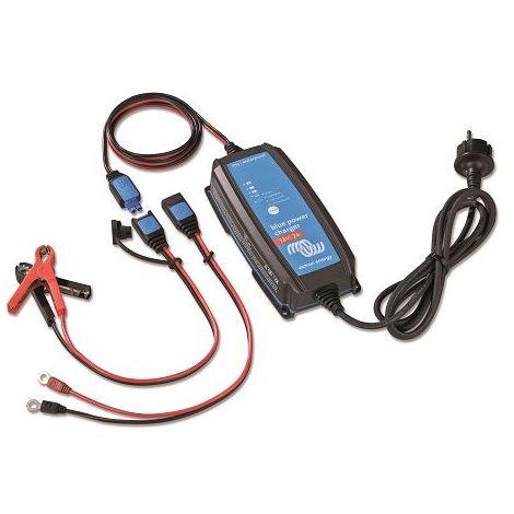 Chargeur de batterie 12V IP65 1 sortie plusieurs connecteurs Victron Blue Power (Ampérage : 7 A)