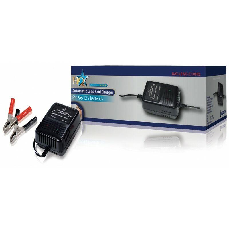 HQ Chargeur de Batterie au Plomb 2 VDC / 6 VDC / 12 VDC 0.6 A