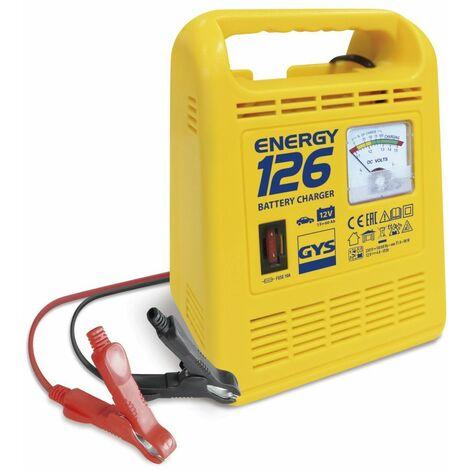 CHARGEUR DE BATTERIE AUTO GYS ENERGY 126 12 VOLTS 4 AMP